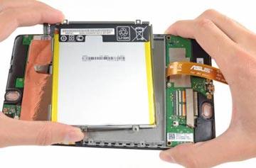 روش بازکردن باتری تبلت