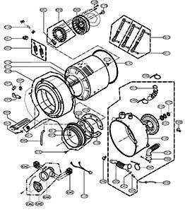 آموزش تعمیر قطعات لباسشویی