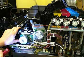 کلاس آموزش تعمیرات پرینتر