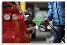 پر کردن بنزین