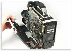 تعمیر دوربین فیلمبرداری