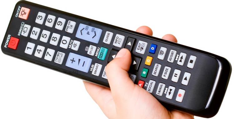 درون کنترل تلویزیون چه قطعاتی به کار رفته است ؟