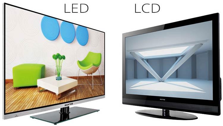 تفاوت بین تلویزیون های LCD و LED