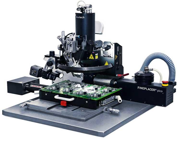 کار با دستگاه بی جی ای ماشین (BGA Machine)
