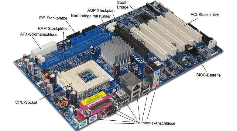 شروع تعمیرات مادربرد کامپیوتر
