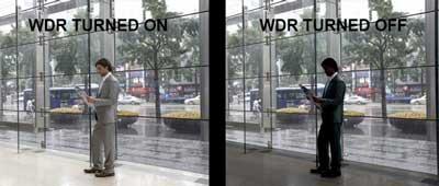 خاصیت WDR دوربین مداربسته