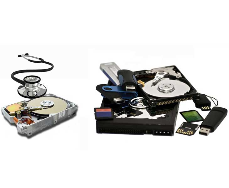 روش های بازیابی اطلاعات هارد دیسک