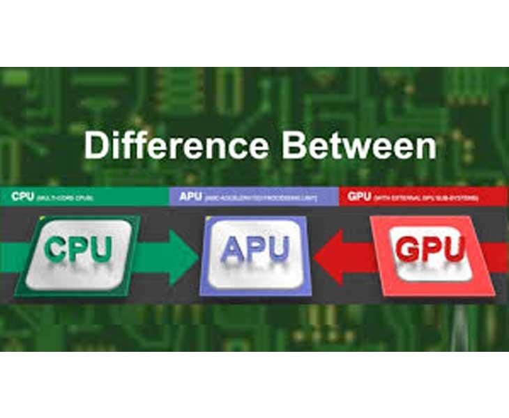 تفاوت های بین CPU ,GPU ,APU