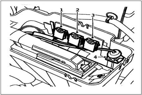 فیوزهای ECU موتور