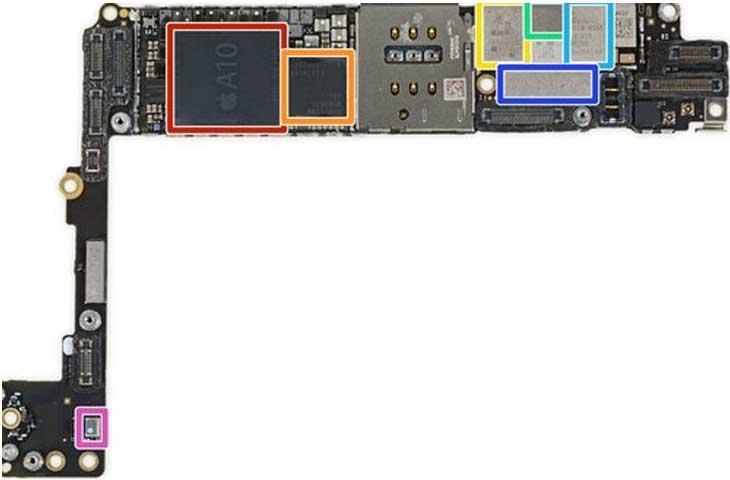شماتیک و سرویس منوال گوشیهای اپل آیفن