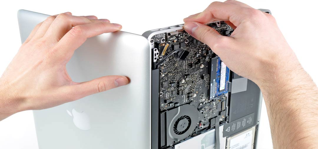 آموزش تعمیر لپ تاپ اپل