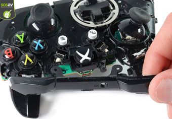 جداسازی دکمه های joystick
