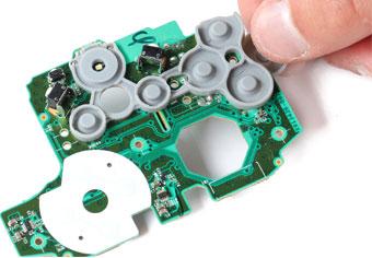 دکمه لاستیکی joystick