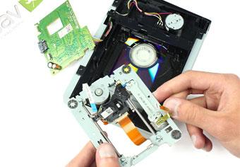 مونتاژ نوری dvd drive