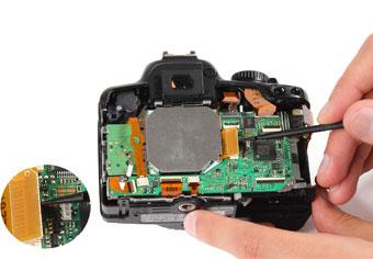 جدا کردن پد سنسور