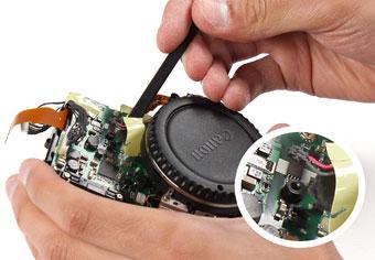جدا کردن کابل برق موتور