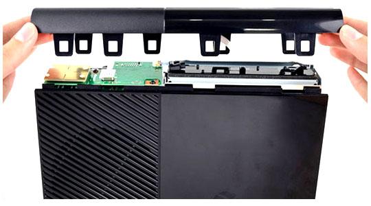 راهنمای درآوردن پنل xbox 360 s