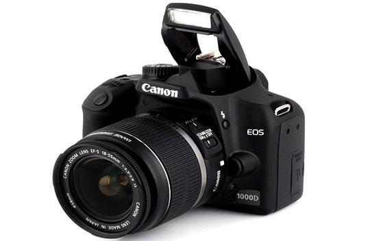 باز کردن برد دوربین عکاسی Canon EOS 1000D