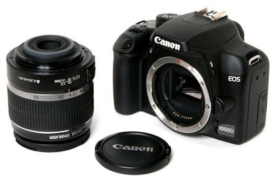 باز کردن سنسور فوکوس دوربین عکاسی Canon EOS 1000D