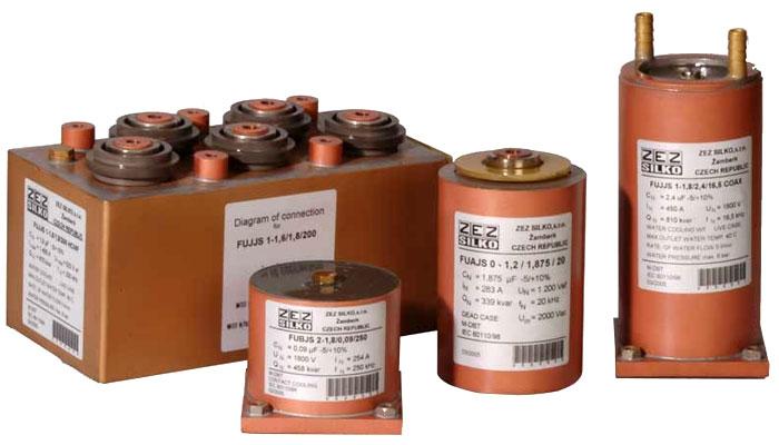 خازن کوره القایی 10kHz-250kHz