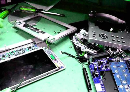 کلاس تعمیر ضبط ماشین