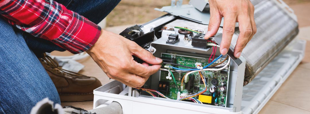 آموزش تعمیر پنل کولر گازی