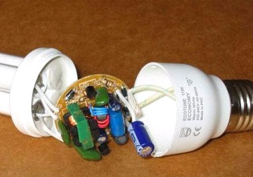 کلاس تعمیر لامپ LED