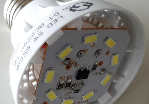 آموزش عیب یابی لامپ کم مصرف