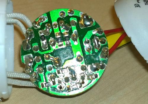 کلاس تعمیر لامپ کم مصرف