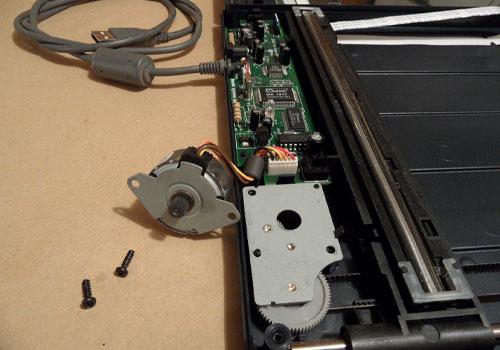 آموزشگاه تعمیر دستگاه اسکنر