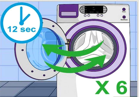 آموزش ریست ماشین لباسشویی