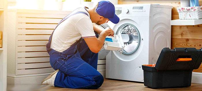 آموزش باز کردن قطعات ماشین لباسشویی
