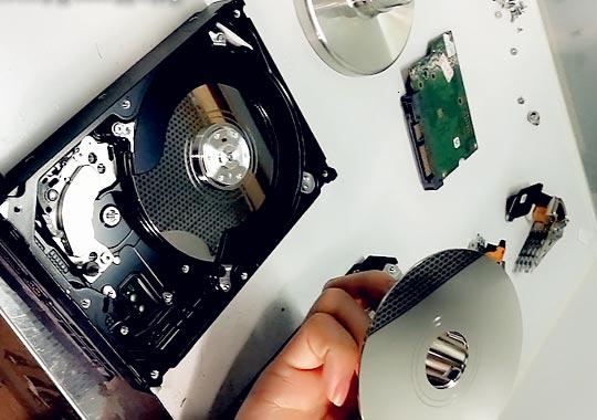 تعمیر هارد لپ تاپ